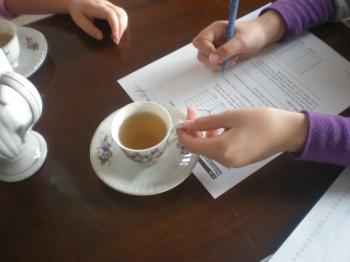 Tea and Homework