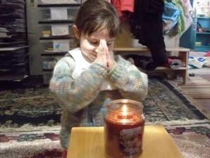 V Candle